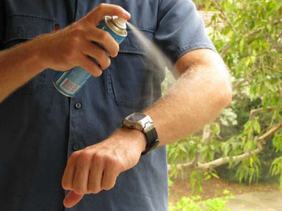 Is it true that the DEET used in most mosquito repellents is toxic?