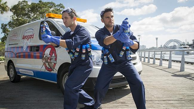 "Aerogard ""Bite Busters"" hit the prime picnic spots around Sydney on Australia Day"