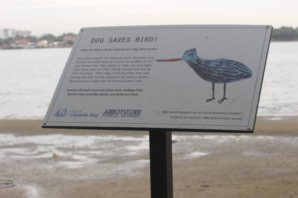 DogSavesBird_sign_June2017